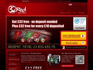 32red casino homepage