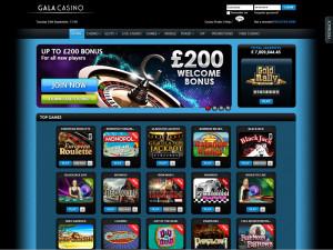 gala casino homepage