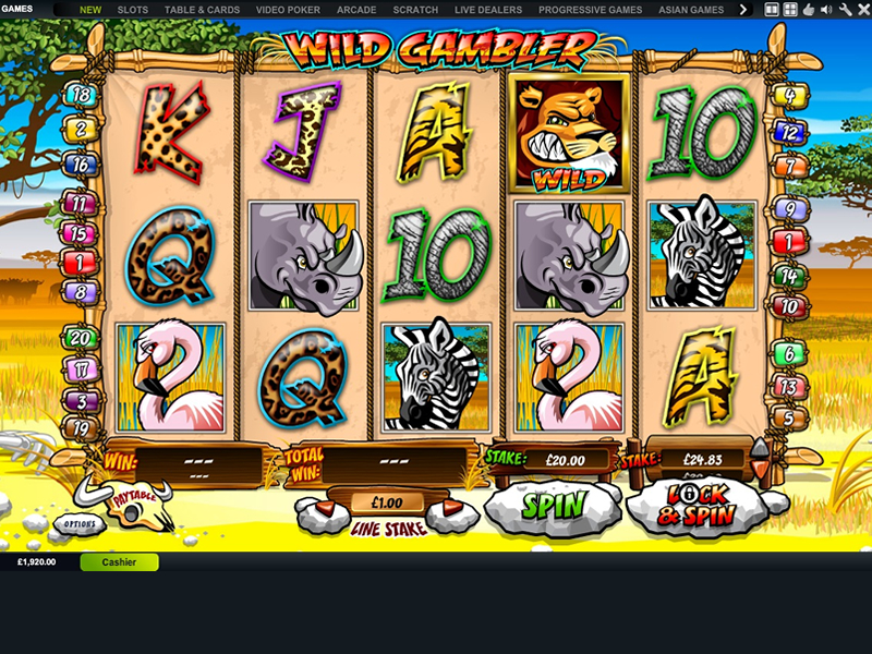 Play Wild Gambler 2 Slots Online at Casino.com NZ