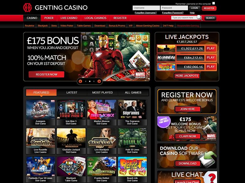 Genting Casino Mobile