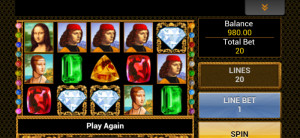 bet victor mobile casino da vinci diamonds slot