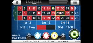 bet victor mobile casino roulette