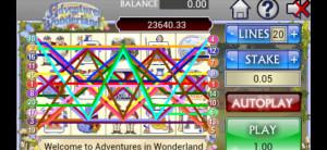 grosvenor mobile casino adventures in wonderland slot
