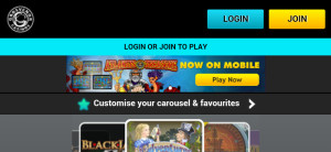 grosvenor mobile casino homepage