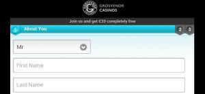 grosvenor mobile casino registration page