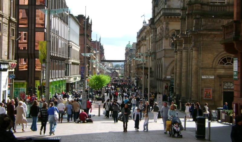 Glasgow city high street