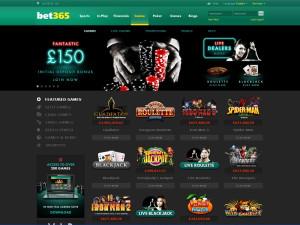 bet365 casino homepage