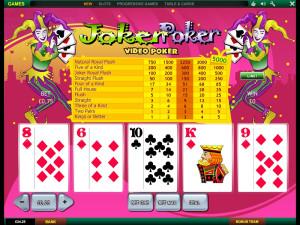 bet365 casino joker poker