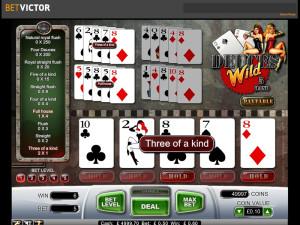 betvictor casino dueces wild