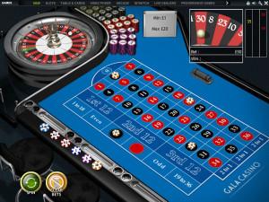 gala casino roulette
