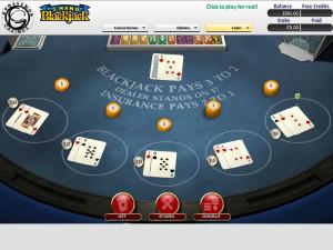 grosvenor casinos multihand blackjack