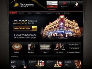 hippodrome casino homepage