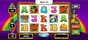 sky vegas mobile casino rainbow riches slot