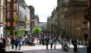 Glasgow city high street